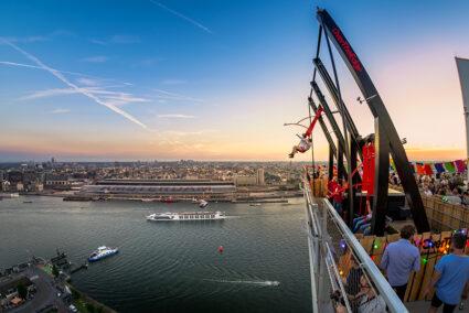 Amsterdam A´dam Lookout Tower Schaukel