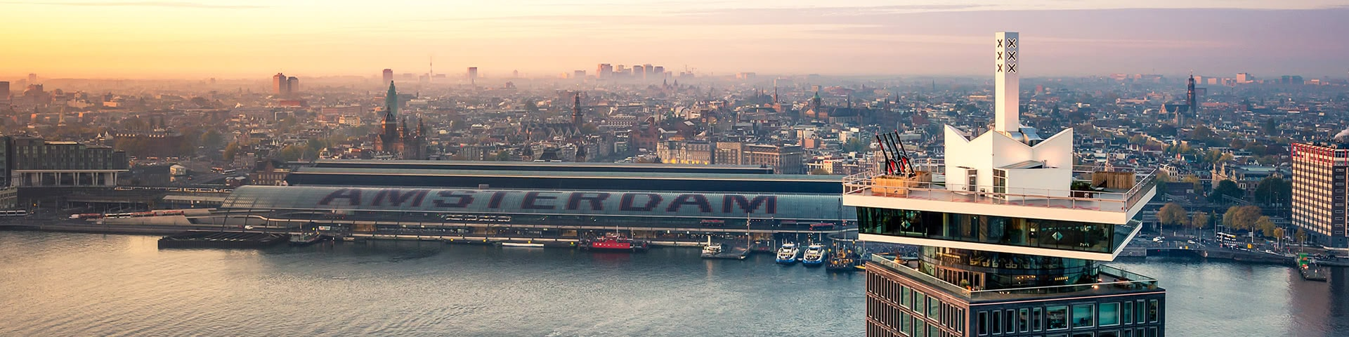 Amsterdam Lookout Tower Luftansicht