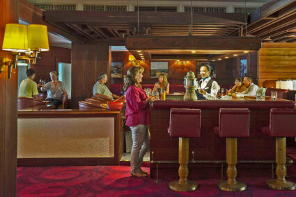 Hotelbar in Bluberry Hill