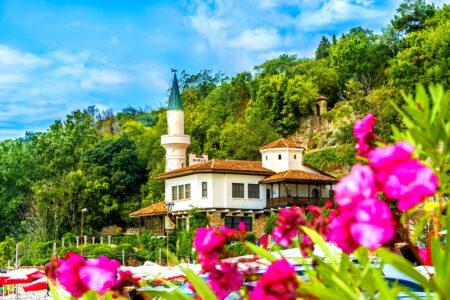 Das Schloss Balchik am Kap Kaliakra in Bulgarien