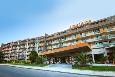Außenansicht vom Hotel Excelsior in Bulgarien