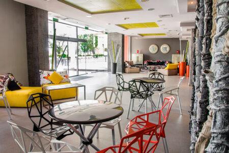 Lobby im Hotel Gladiola Star in Bulgarien