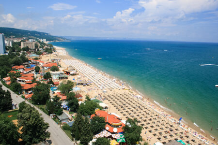 Strand und Meer am Hotel Sofia in Bulgarien