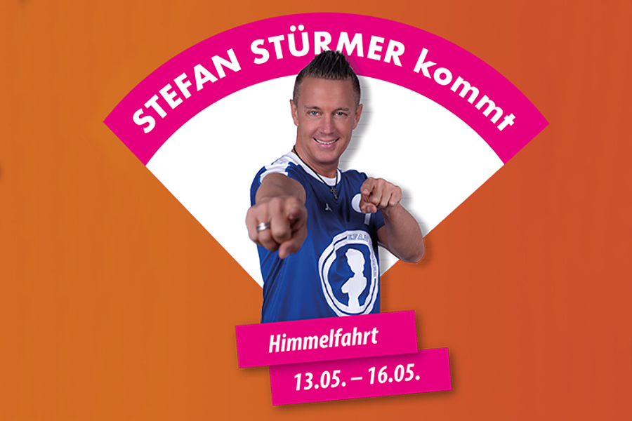 Stefan Stürmer an Himmelfahrt in Hallorca