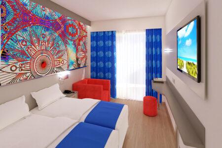Zimmer im Hotel MLL Indico Rock auf Mallorca