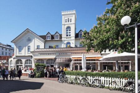 Außenansicht vom Inselhotel König auf Norderney