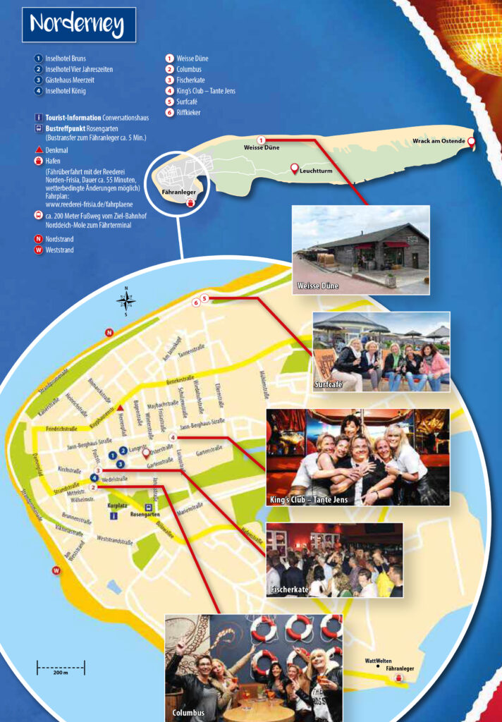 Übersichtskarte Norderney