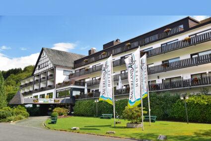 Außenansicht Sauerland Alpin Hotel in Schmallenberg