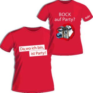 Müller-Touristik-T-Shirts