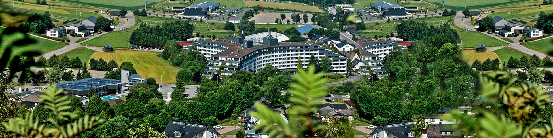 Luftbild Sauerland Stern Hotel in Willingen