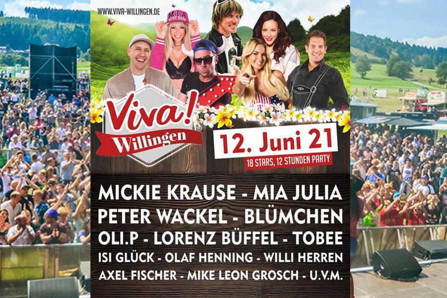 Line-up Viva Willingen 2021